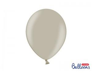 Balon srebrny lateksowy z...