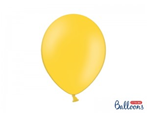 Balon Żółty Lateksowy z helem