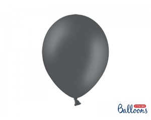 Balon Szary Lateksowy z helem