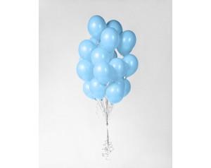 Zestaw balonów błękitnych z...