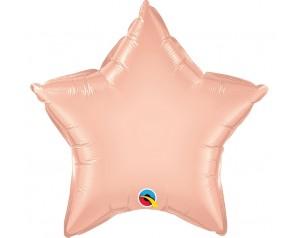 Pudrowo-różowa Gwiazda z helem