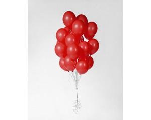 Zestaw balonów czerwonych z...