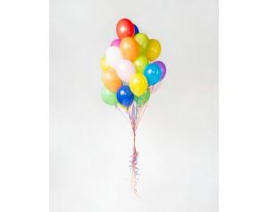 Balony mix kolorów z helem