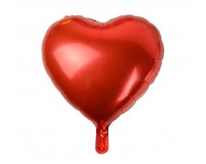 Czerwone Serce z helem