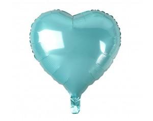 Jasnoniebieskie Serce z helem