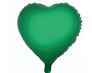 Zielone Serce z helem