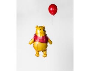 Zestaw kubuś z balonem z helem