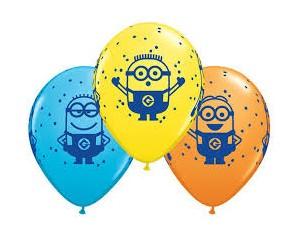 Balon Minionek Lateksowy z...