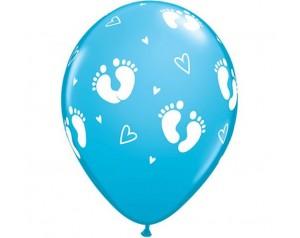 Balon niebieski Stópki...