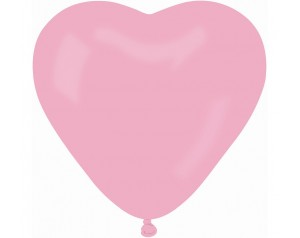 Balon Serce różowe...