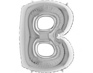 Literka B z helem