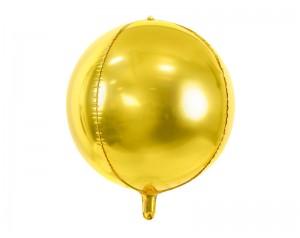 Złota kula z helem