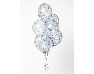 Zestaw błękitne konfetti