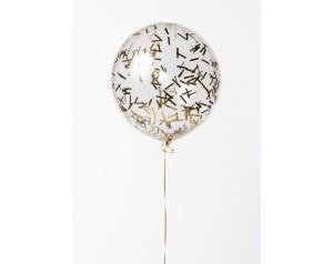 Balon duży ze złotym...