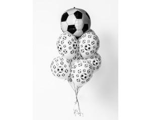 Zestaw piłkarski z helem