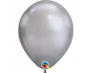 Balon srebrny chromowany