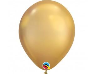 Balon złoty chromowany
