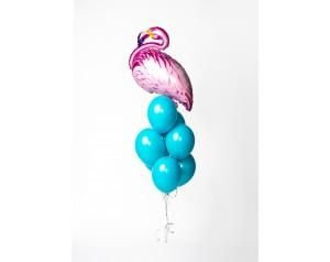Zestaw balonów z flamingiem
