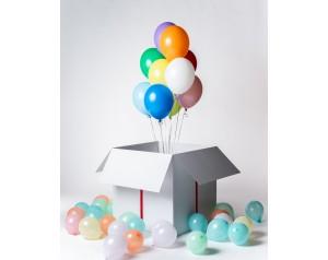 Mix balonów w kartonie