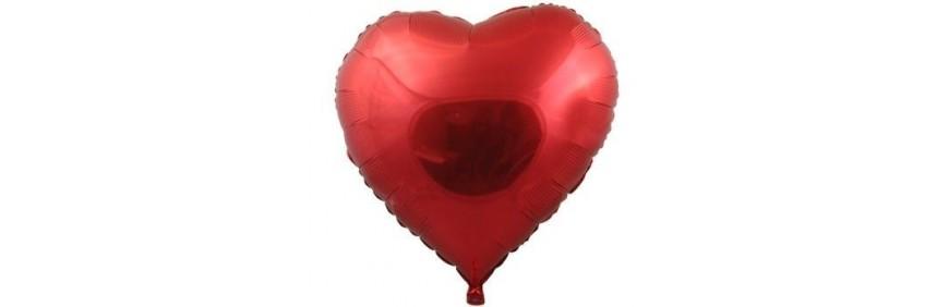 Balony serca dla zakochanych z helem